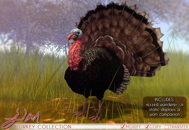 JIAN Turkey Collection @ District 20!
