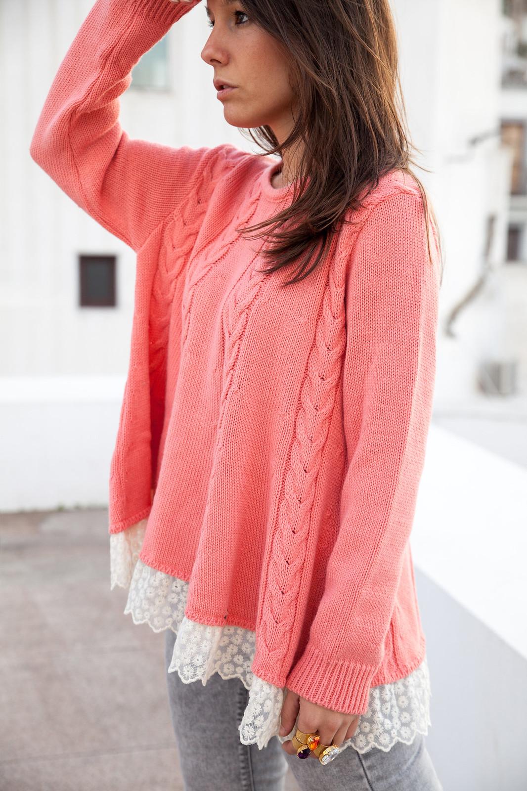 como combinar jersey de punto rosa theguestgirl influencer ibiza spain barcelona sexy influencer spain