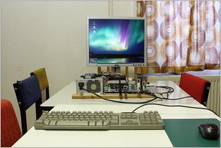 Linux day at DL0HAL (test build) Mint