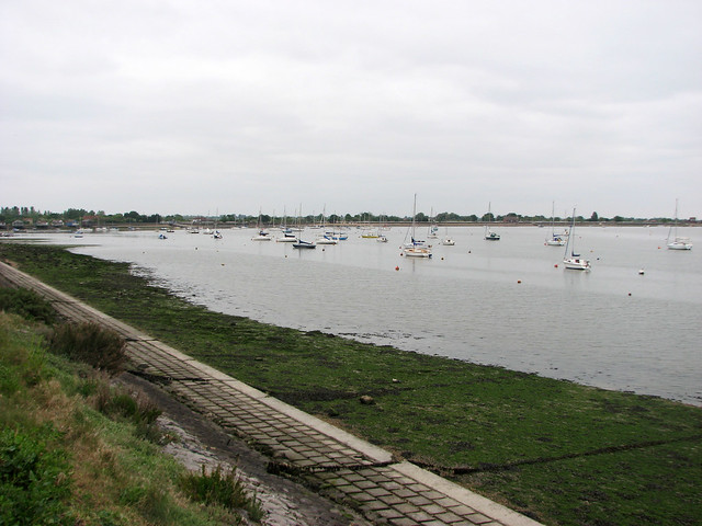 The Blackwater estuary at Heybridge