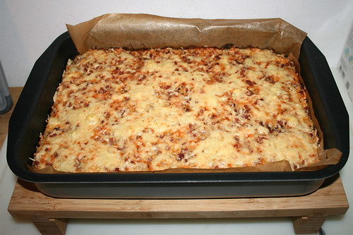 29 - Tarte sourcrout - Finished baking / Sauerkrautkuchen - Fertig gebacken
