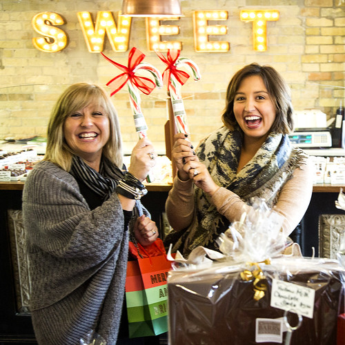 Shopping at Chocolate Barr's is always sweet. Stratford Christmas Trail marks beginning of holiday season