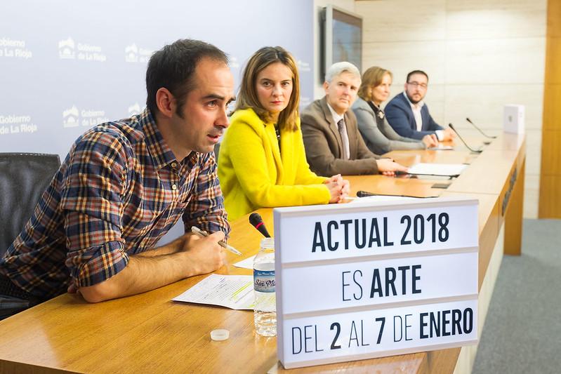PRESENTACIÓN ARTE / ACTUAL 2018