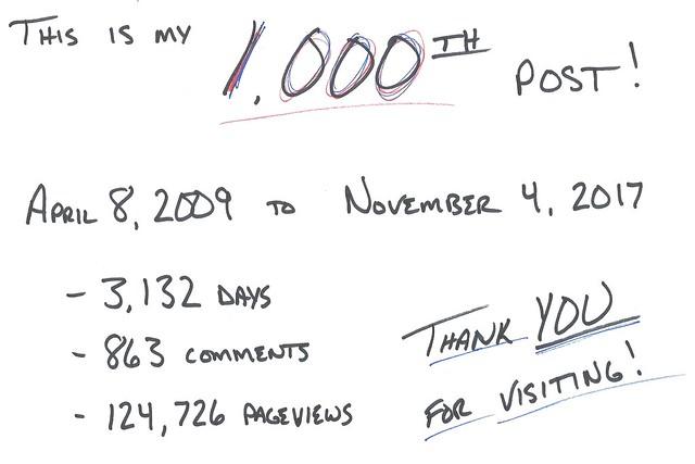 20171104 1000 posts