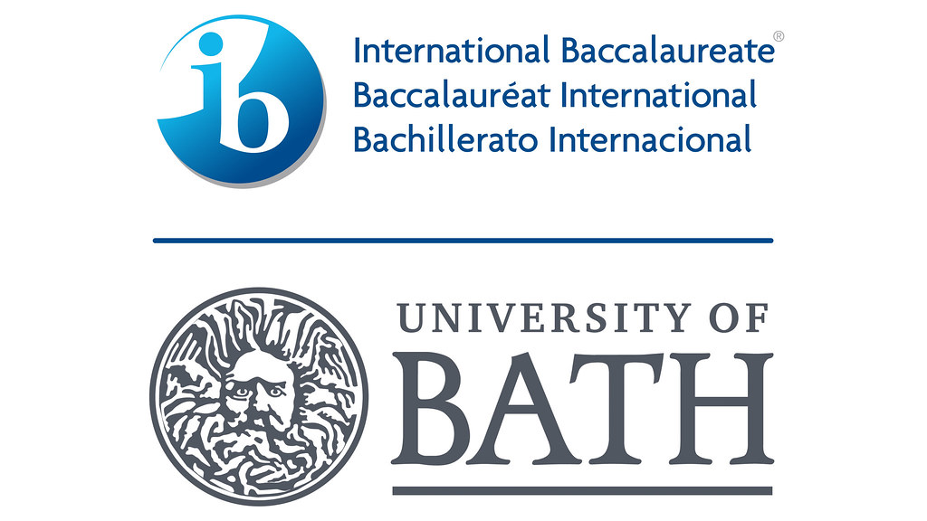 The International Baccalaureate and University of bath logos