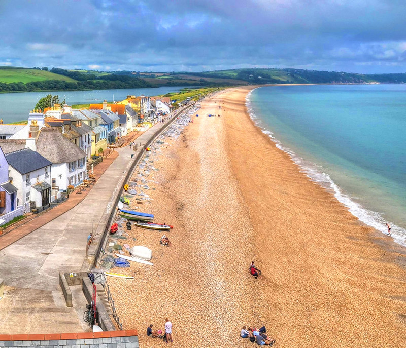 Torcross & Slapton Sands, South Devon. Credit Baz Richardson