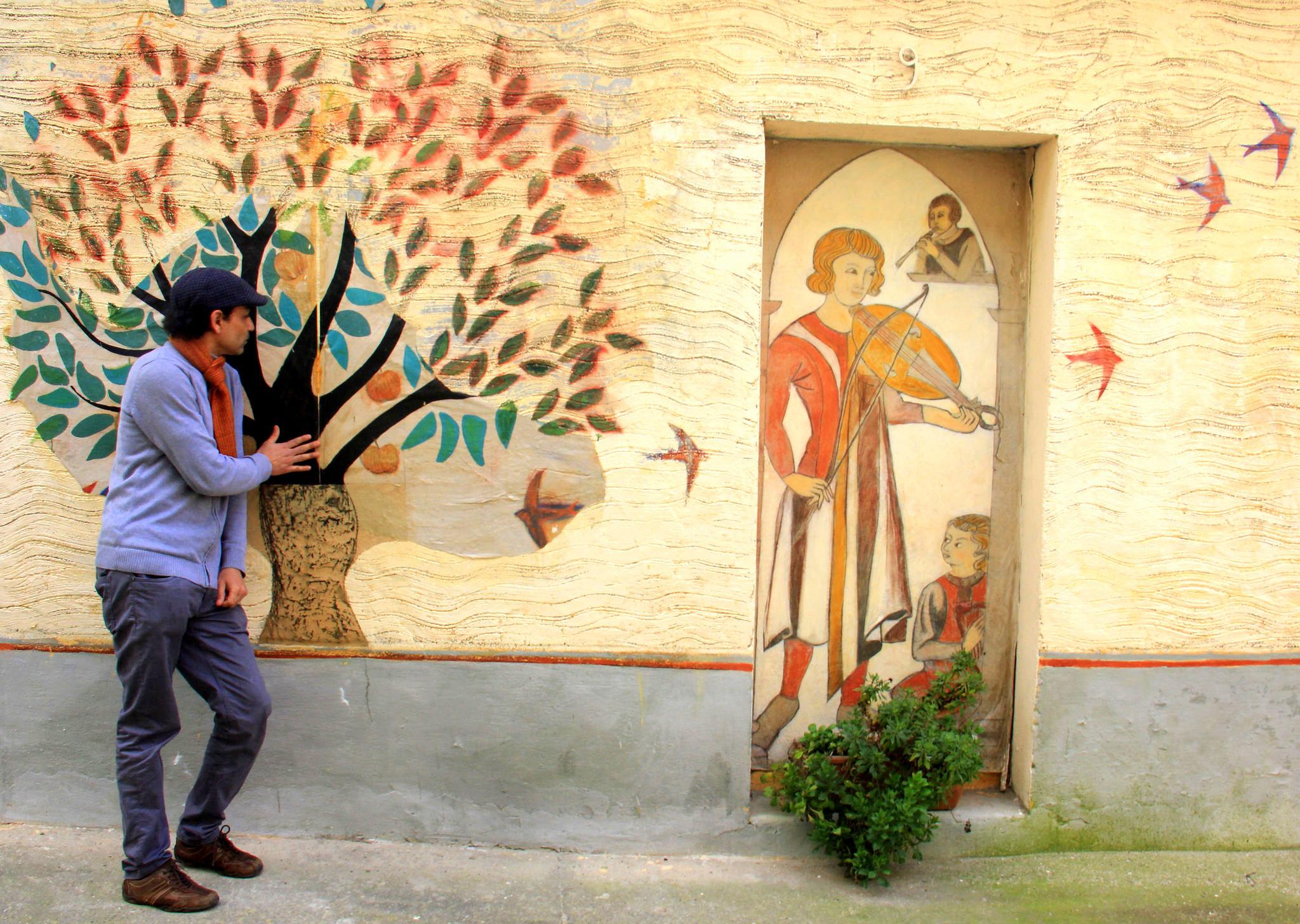 Street art in Carcassonne