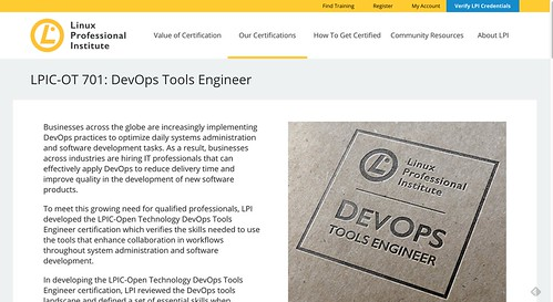 LPIC OT 701  DevOps Tools Engineer   Linux Professional Institute