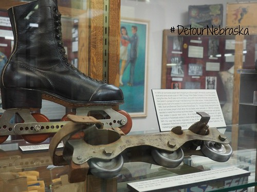 National Roller Skating Museum in Lincoln. From Seven Quirky Nebraska Detours