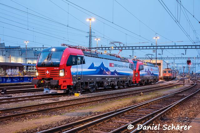 Br 193 461 + 462 / Basel RB