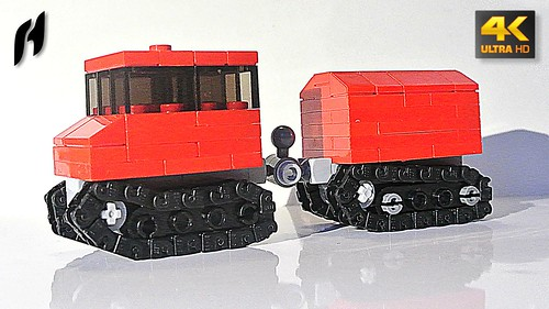 Hägglunds Bv206 (MOC - 4K)