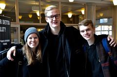 Birthe, Johannes och Daniel