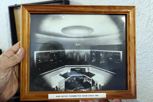WJSV WTOP Transmitter Room circa 1942