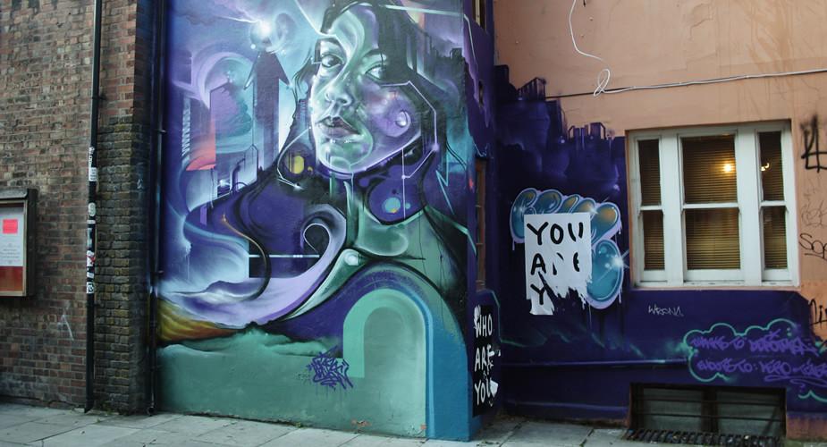 Street art Londen | Mooistestedentrips.nl