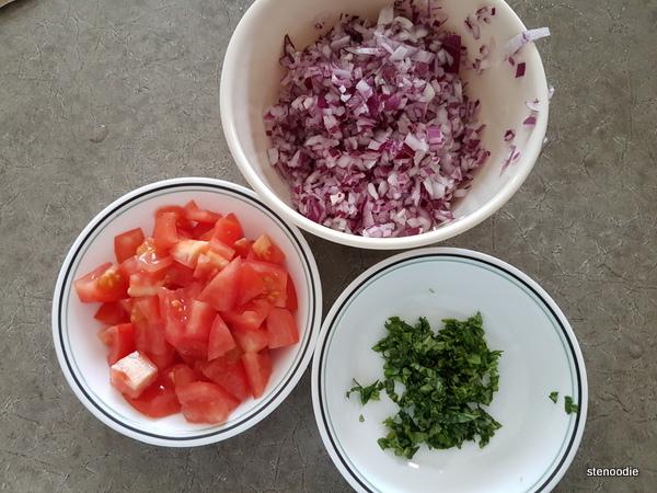 produce chopped up