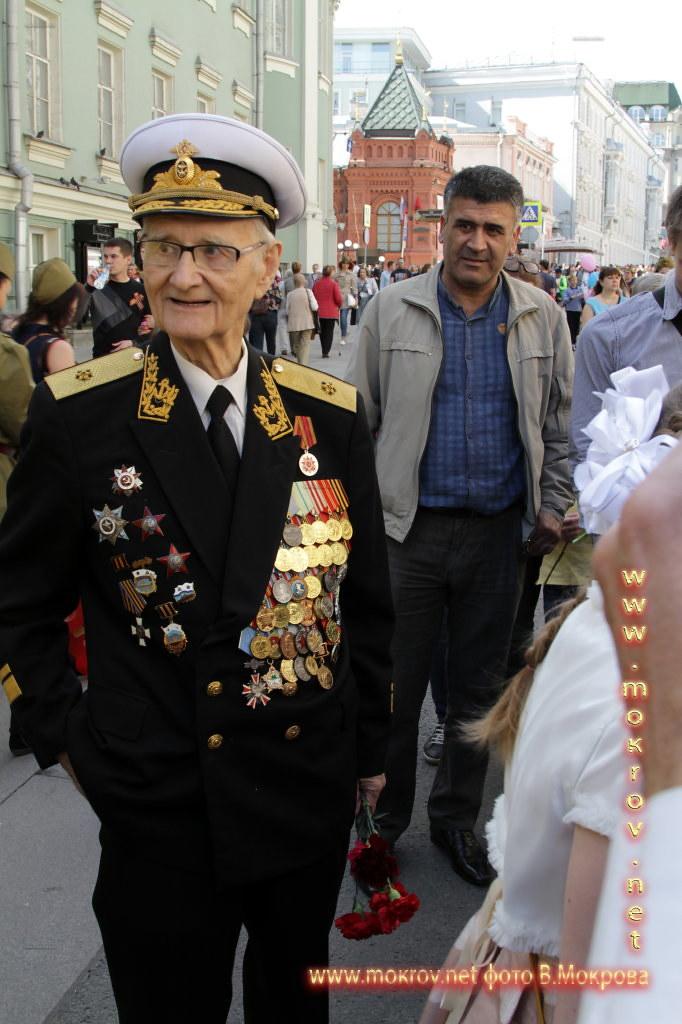 Ветеран ВОВ Парад победы 2015