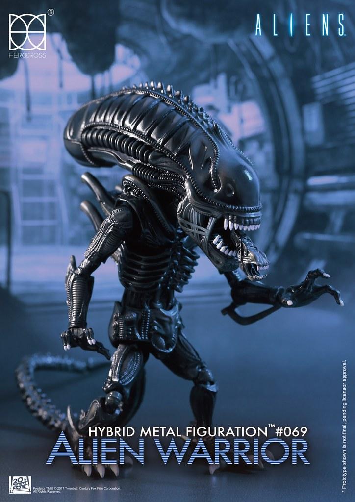 宇宙最Q 的狩獵者?! HEROCROSS HMF 系列《異形2》異形戰士 Alien Warrior HMF#069