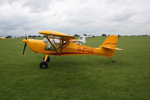 G-ZTUG Aeropro Eurofox [LAA 376-15215] Sywell 030917