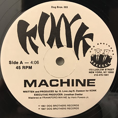 KONK:MACHINE(LABEL SIDE-A)