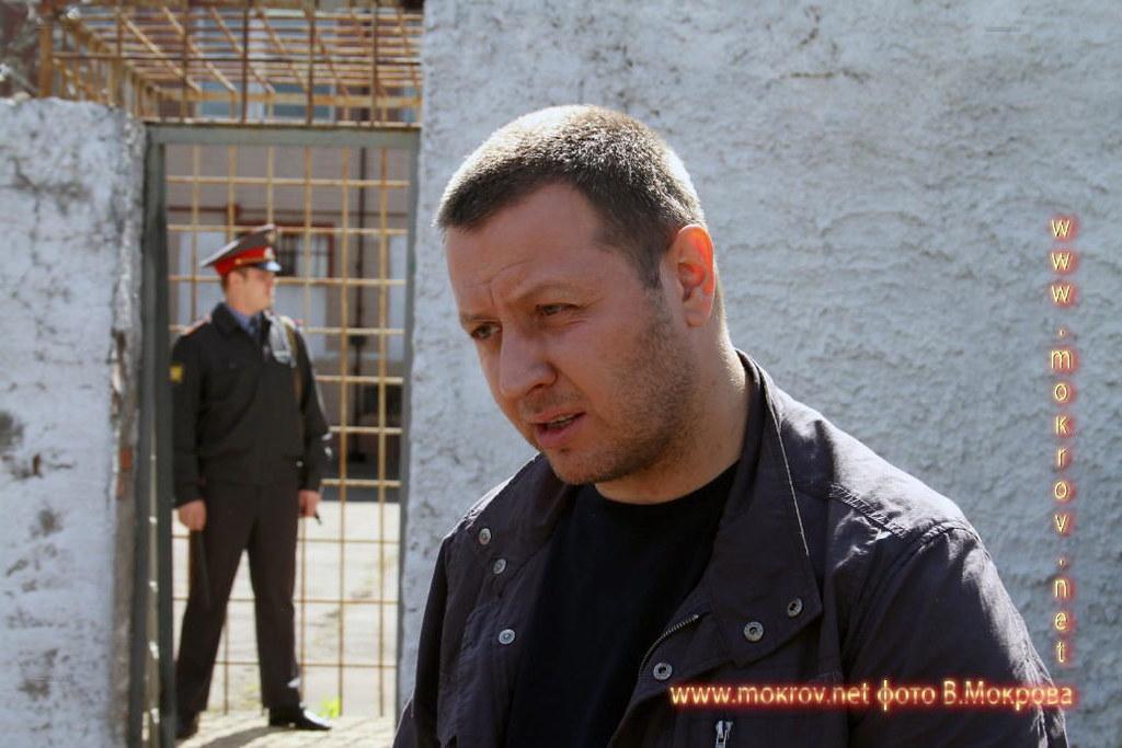На съемках Телесериал «Карпов» и Фотоискусство