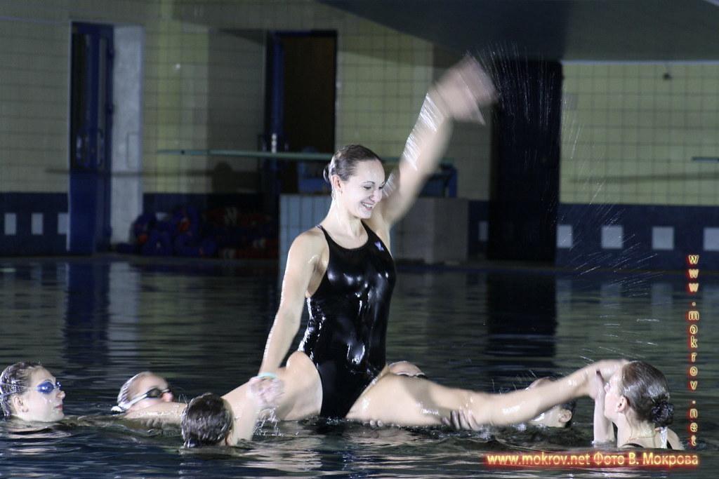 Сборная команда России по синхронному плаванию Фотоискусство.