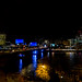 The Thames at night by jackharrybill