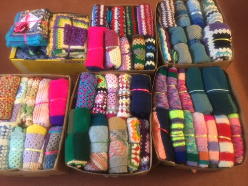 Last delivery of SIBOL Blankets 2017. To Sir Josiah Mason Trust, Mason House, Solihull.