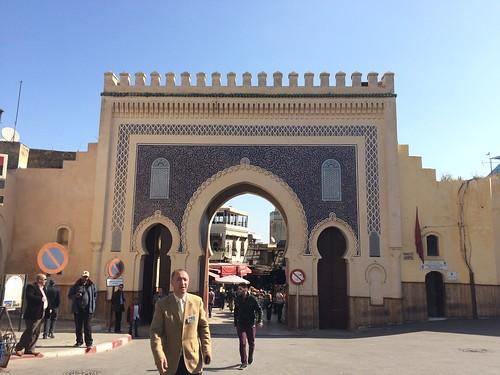 ブー・ジュルード門がフェズエルバリの入り口