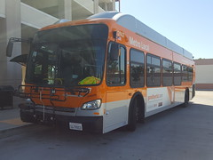 Los Angeles County Metropolitan Transportation Authority 2015 New Flyer XN40 #3947
