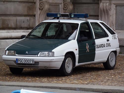 Citroen-ZX-Police