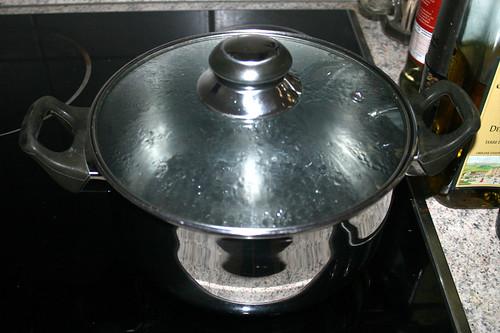 14 - Wasser zum kochen bringen / Bring water to a boil