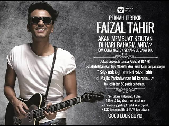Faizal Tahir - Mencari peMENANG bertuah!