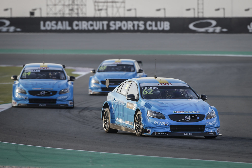 MAC 3 Volvo S60 Polestar team Polestar Cyan Racing action during the 2017 FIA WTCC World Touring Car Championship race at Losail  from November 29 to december 01, Qatar - Photo Francois Flamand / DPPI