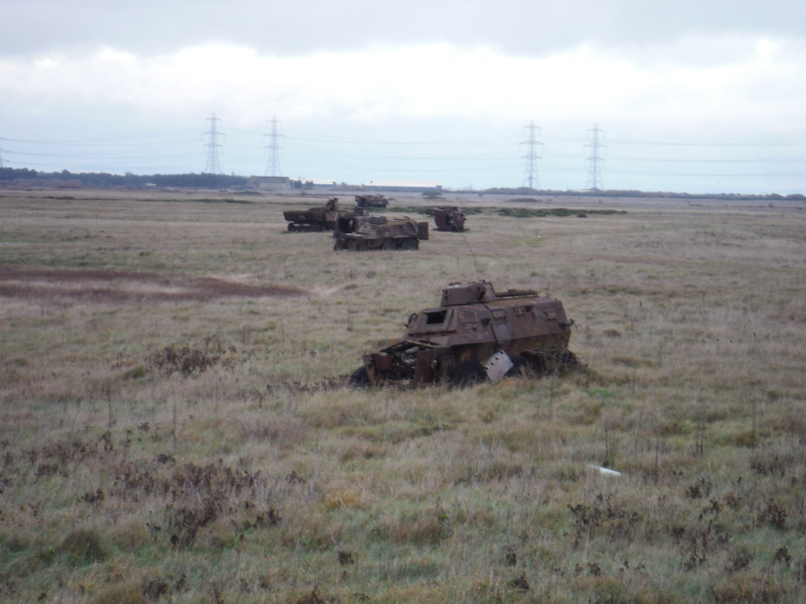 Target Tanks, Lydd Ranges SWC 154 - Rye to Dungeness and Lydd-on-Sea or Lydd or Circular