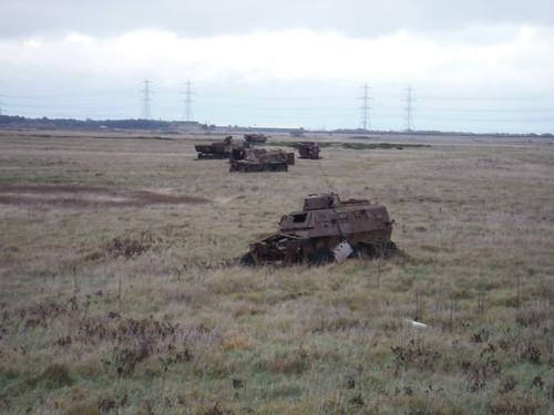 Target Tanks, Lydd Ranges