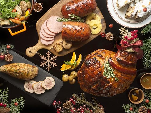 Honey Glazed Boneless Ham, Honey Glazed Bone-In Ham