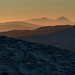 Ben More and Stob Binnein in the far away. Sundown.