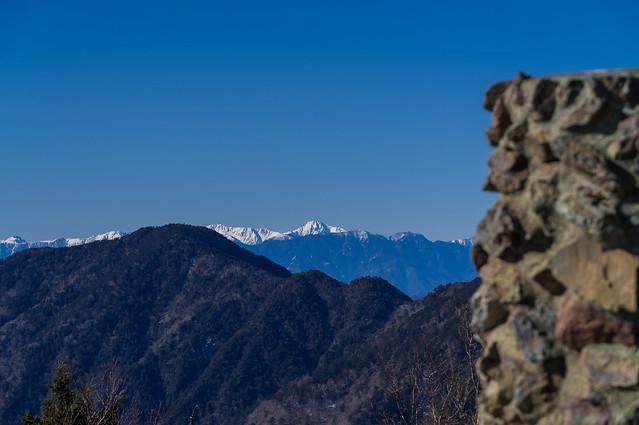 今日の南アルプスは良く見える@雲取山