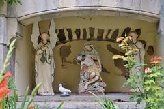 Castellane, fontaine