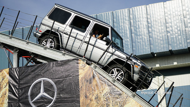 Mercedes-Benz G550 drives the Mercedes Iron Shockl