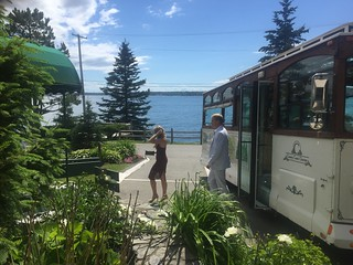 Spruce Point Inn Wedding Trolley Services