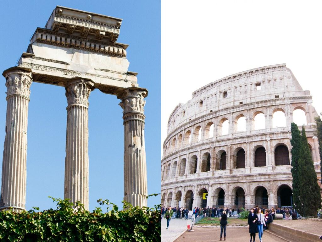 forum romanum colosseum
