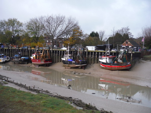 River Rother at low tide, Rye