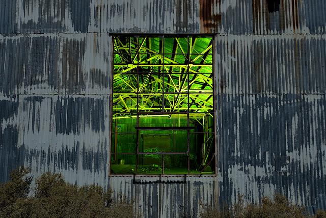 corrugated. mojave desert, ca. 2016.