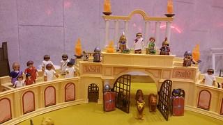 Belén de Playmobil de ACYCOL Cúpula del Milenio 2017-2018