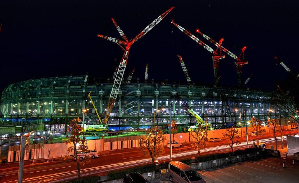 2020 Tokyo Olympic Stadium 新国立競技場