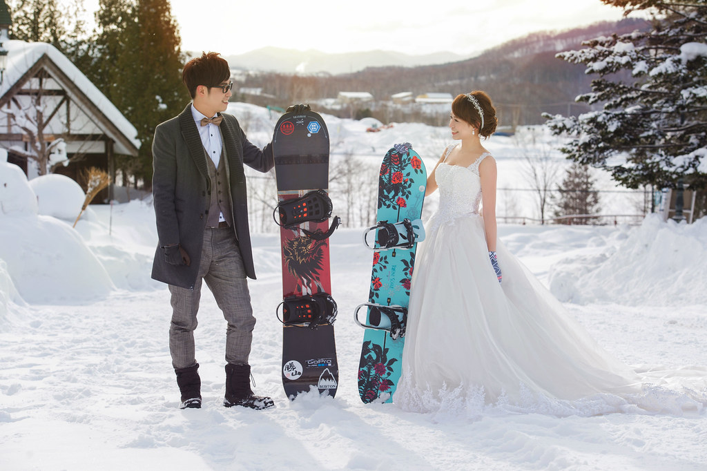 """""""滑雪婚紗,北海道婚紗,雪地婚紗,婚攝Mike,婚禮攝影,婚攝推薦,婚攝價格,海外婚紗,海外婚禮,風格攝影師,新秘Juin,wedding"""""""