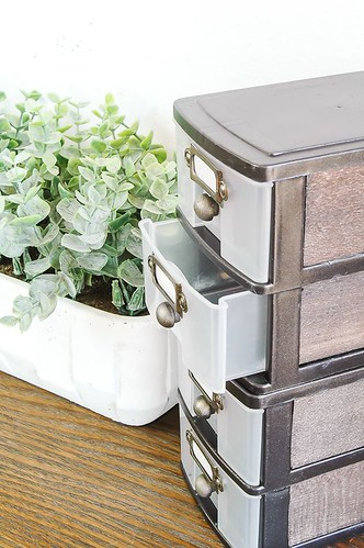 DIY Home Decor Inspiration  : WOW, this transformation is unbelievable! Inexpensive Dollar Tree storage drawer… – #DIYHome