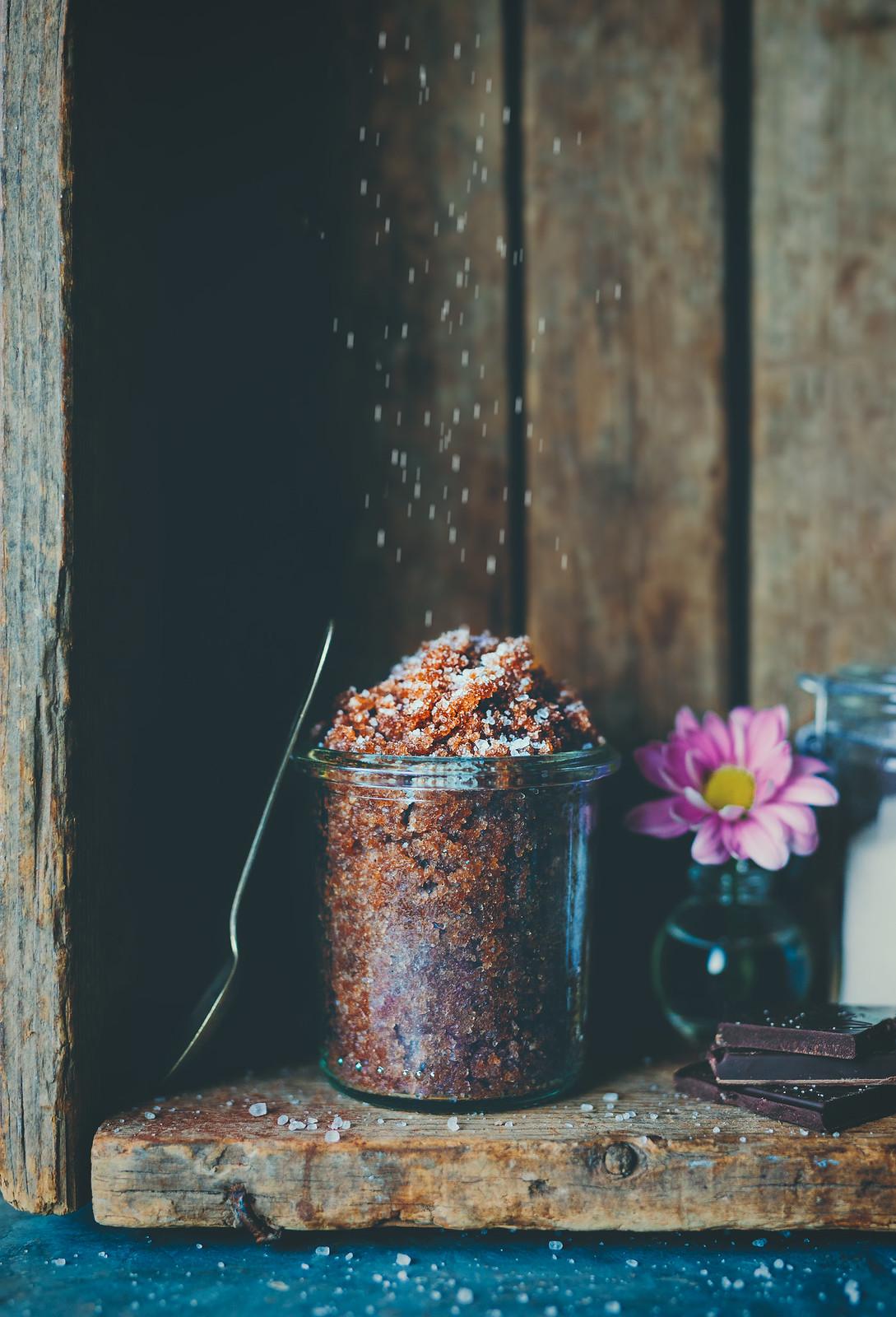 Kroppsskrubb med kakaosmör och epsomsalt - karinevelina.se
