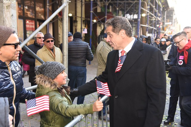Governor Cuomo Announces New York's First-Ever Veteran License Plate with Service Branch Available in Celebration of Veterans Day, Marches in NYC Veterans Day Parade